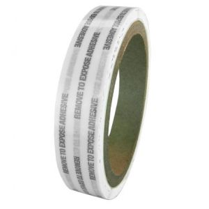 WOD PTT-EL-GSO Permanent Transfer Tape with Extended Liner for Signs or Posters and Envelope Sealing (Reverse Wound)