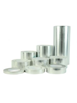 MAT Aluminum Foil Tape in Bulk, 2 Mil - Acrylic Adhesive for HVAC and Insulation, AFTA36