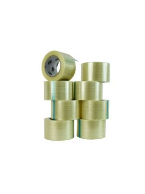 WOD FIL-930P Uni Directional Filament Strapping Tape Industrial Grade (Available in Multiple Sizes)